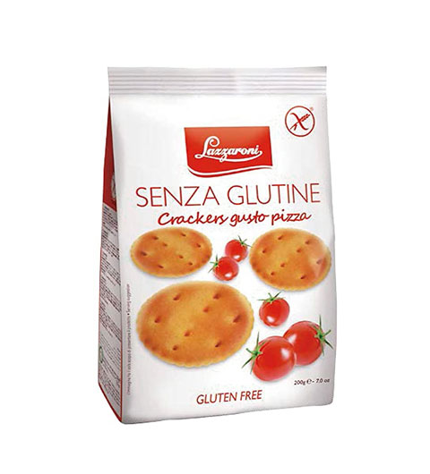 Lazzaroni Glutenfreie Cracker mit Pizzageschmack